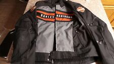 Harley Davidson Men's Codec Textile/Mesh Riding Jacket with Armor
