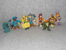 Hanna Barbera Scooby Doo Pirate Shaggy Fred Velma Daphne Monsters Mini Figures