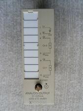 Siemens Simatic S5 Analog Ausgangskarte, 6ES5 470-8MB11 2x +/- 20mA ok.