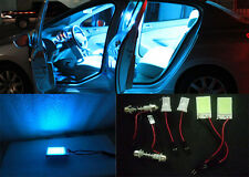 2pcs HID ice blue 16-COB LED Panel Light For Interior Map/Dome/Door/Trunk Light