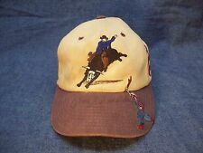 "M&F Western Product Bull Rider Baseball Cap Well Worn Signed ""JIM SHOULDERS"" *C1"