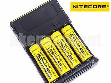 Nitecore i4 NEW 2016 Charger+NL1835 18650 Rechargeable Li-ion Protected Battery