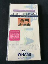 "***RARE 3"" JAPANESE PROMO/SAMPLE CD***Club Tropicana-Wham! (George Michael) NM"