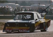 Klaus Ludwig Hand Signed 12x8 Photo ADAC Trophy Zolder BMW 2.