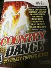 Country Dance (Nintendo Wii, 2011) Complete FAST SHIPPING