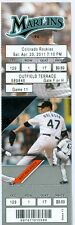 2011 Marlins vs Rockies Ticket: Jason Hammel Win and RBI