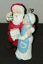 "HALLMARK 1994 A HANDWARMING PRESENT #9  IN THE ""MR. AND MRS. CLAUS""  SERIES"
