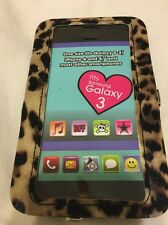 Cell Phone Wristlet Case iPhone 4 & 5, Samsung Galaxy 3 Case Leopard Print Cute!