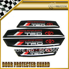 Premium Quality TRD Vinyl Door Protector Guard For Toyota Fortuner Etios Liva.