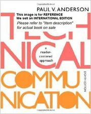 Technical Communication: A Reader-Centered Approach (Int' Ed Paperback)8ED