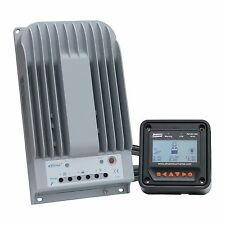High efficiency 30A MPPT solar charge controller with LCD display for up to 150V