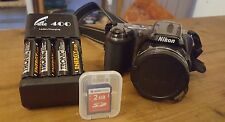 Nikon COOLPIX L810 16.1 MP Digitalkamera Bronze,Neuwertig,2 GB SD/Akk./Ladeger.