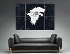 GAME OF THRONES WINTER IS COMING NEW Poster Grand format A0 Large Print 02
