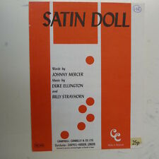 songsheet SATIN DOLL Duke Ellington Billy Strayhorn , 1960 #