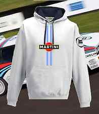 Lancia Martini Racing White Navy Hoodie XS-2XL