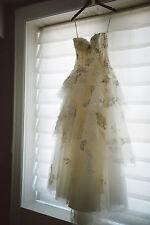 Monique Lhuillier Bijou Wedding Dress, Size 10 (M), $12,500 Value!