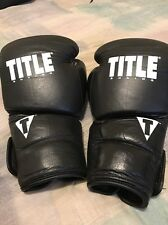 Title Boxing 16oz Boxing Gloves Genuine Leather