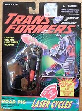 Transformers G2 Road Pig MOSC NEW Lazer Cycles action Figure GENERATION TWO