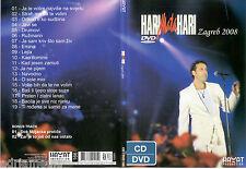 HARI MATA HARI DVD + CD Zagreb 2008 Zagreb Eurosong Sarajevo Eurovision Bosna