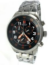 Swiss Military Hanowa 06-5263.04.007.79 chronograph acero inoxidable swiss made nuevo