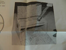 Vintage U-Bild Enterprises Chuck Box Woodworking Pattern #213 New