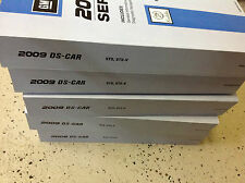 2009 CADILLAC STS S T S Service Shop Repair Manual Set FACTORY BOOKS 09 NEW