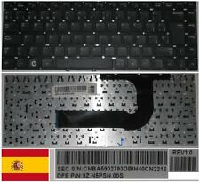 Clavier Qwerty Espagnol SAMSUNG P35 Q43  BA59-02793D 9Z.N5PSN.00S Series Noir