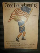 VTG JULY 1931 GOOD HOUSEKEEPING MAGAZINE-JESSIE WILCOX SMITH COVER-COMPLETE MAG