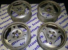 "SAAB 9-5 95 3 Spoke Sport Hammerhead Alloy Wheels 7 x 17"" ALU28 4566063 GENUINE"