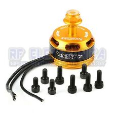 4X Racerstar Racing Edition 2205 BR2205 2300KV 2-4S Brushless Motor Yellow For 2
