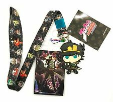 **License** JoJo's Bizarre Adventure Group Jotaro Badge ID Holder Lanyard #37763