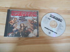 CD Rock Scorpions - World Wide Live (15 Song) HARVEST EMI / GERMANY