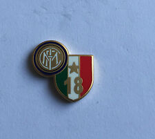 "INTER FC PINS DI PRESTIGIO 18 SCUDETTO 2010 LOGO ""PINS 028"" clips (bottone)"