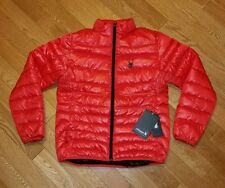 Spyder Primo Duck Down Puffer Winter Ski Jacket Men's Medium Red $190 NEW