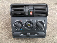 VAUXHALL CORSA B DASHBOARD CENTRE CONSOLE, HEATER CONTROLS, HAZARD, VENTS