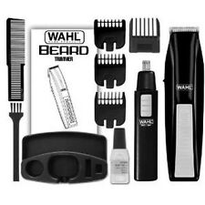 Wahl 5537-1801 Battery Operated Beard Trimmer with Bonus Trimmer /New-  READ