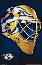 NASHVILLE PREDATORS - MASK LOGO POSTER - 22x34 NHL HOCKEY 15303