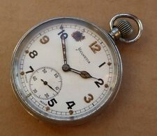 Helvetia military pocket watch, General Watch Co, calibre 32A, working order.