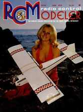 R/C RADIO CONTROL MODELLER MAGAZINE 1976 JUN P-51D MUSTANG, MISS VINTAGE