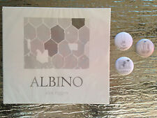 Alex Riggen-Albino  CD NEW plus three promo buttons from cds