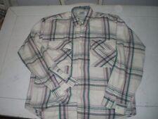 Camicia Grunge Shirt Flanella Felpa Rockabillly Size L Pearl Jam Eddie Vedder