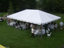 NEW 20 x 30 White West Coast Frame Tent Wedding Canopy Party Event Rental Tent