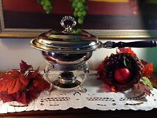 International Silver Company Chafing Dish with Sterno Can Holder  2 Available