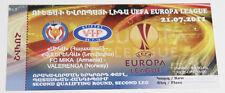 Ticket for collectors EL MIKA Yerevan Velarengen Oslo 2011 Armenia Norway