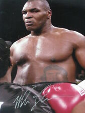 "MIKE TYSON Hand Signed 12""x18"" Photo + Photo Proof"