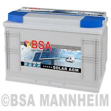 2x Solarbatterie 120AH 12V 24V AGM GEL Batterie Wohnmobil Boot Schiff Akku 100Ah