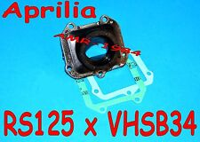 MANIFOLD NEW for VHSB34 Aprilia RS 125 Engine ROTAX 122 123 + gaskets