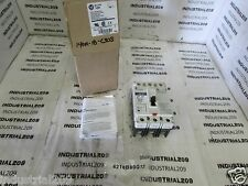 ALLEN BRADLEY MOTOR CIRCUIT PROTECTOE 30 AMP CAT 140M-I8P-C30S (A) NEW IN BOX