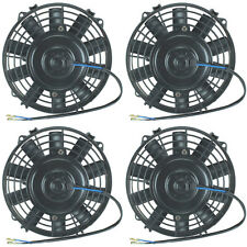 "QUAD 7"" INCH ELECTRIC FANS 12V ATV AUTO ENGINE COOLING FAN 4-PACK 4800 CFM TOTAL"
