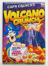 Volcano Cap'n Crunch FRIDGE MAGNET (2 x 3 inches) cereal box captain breakfast